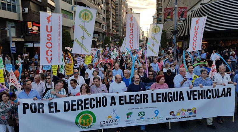 Fotografías manifestación Alicante 19 de mayo