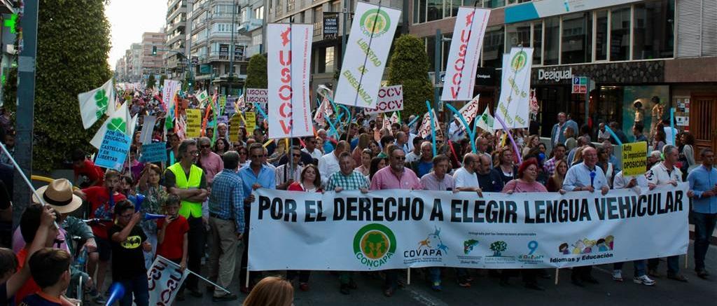 Manifestación Alicante_