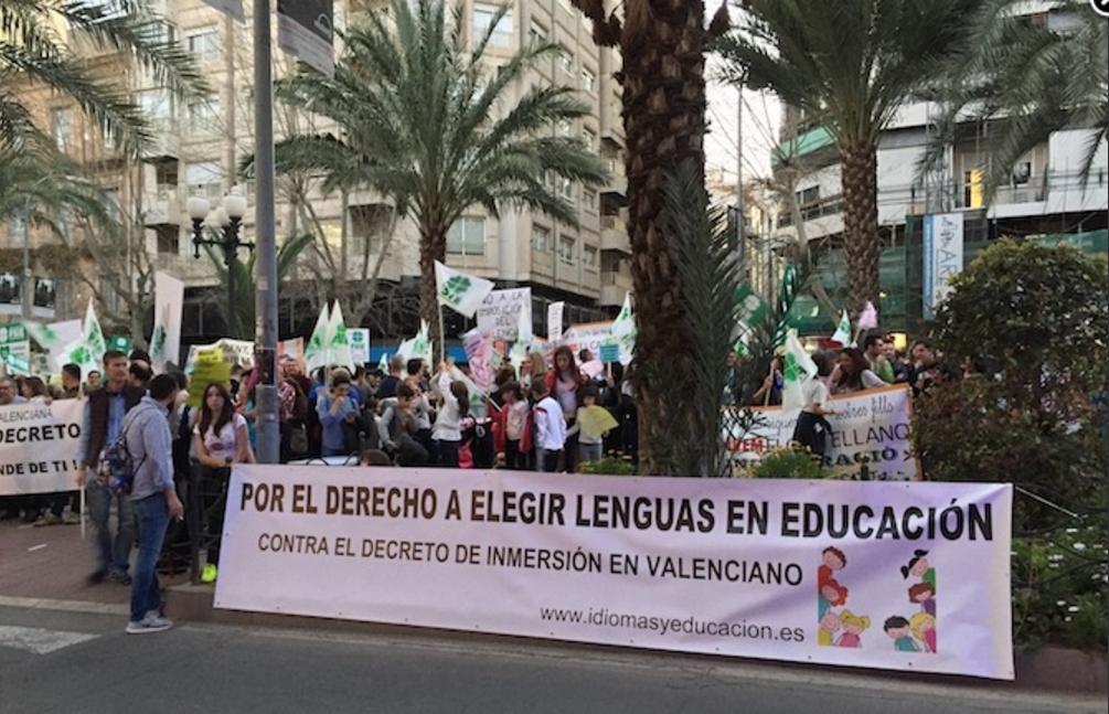 Fotografías concentración Alicante 10 de marzo